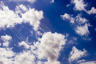 Vivid cloudscape