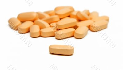 Vitamins pills
