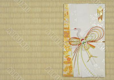 Japanese festive envelope
