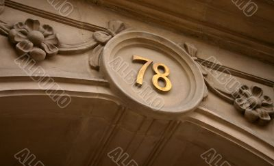 House number sevety eight