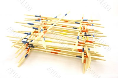 pick-a-sticks in order