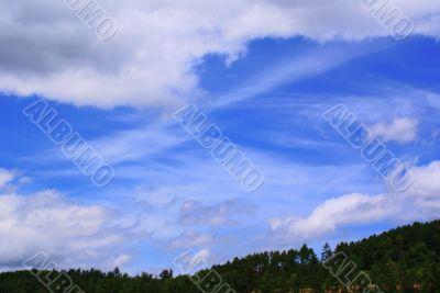 clear sky on the horizon