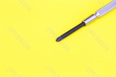 tip of screw driver