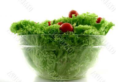 Red dots in lettuce