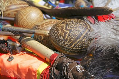 The Andes instruments- maracas