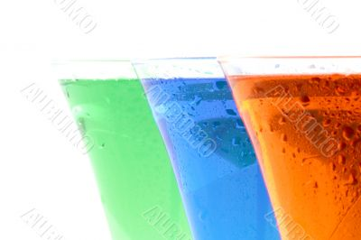 Coloured beverages