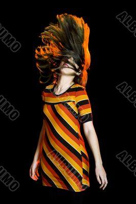 Moving th hair