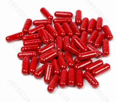 Red capsules