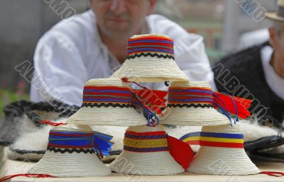Traditional Romanian hats