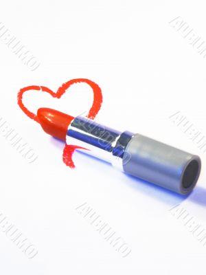 heart lipstick