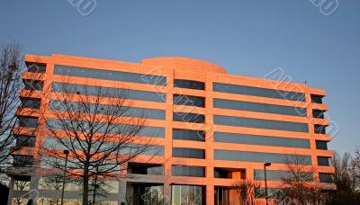 Building in Morning Light