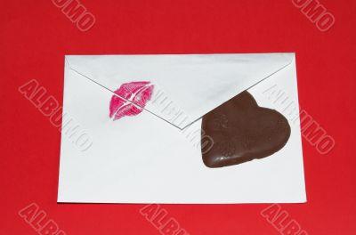 kiss postcart