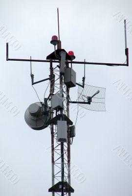 peak of communication Hi-Tek mast