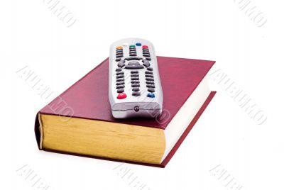 TV Remote & book