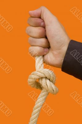 Holding a knot