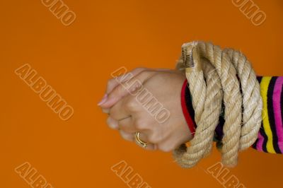 Captive woman 1