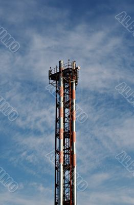 Tower of cellular communication