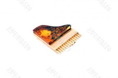 brooch amber