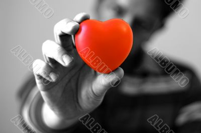 Give You My Heart (bw)