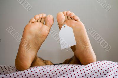 anti natural dead feets