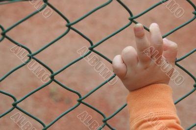 Hand Saying Two