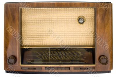 Vintage Tube Radio w/ Path