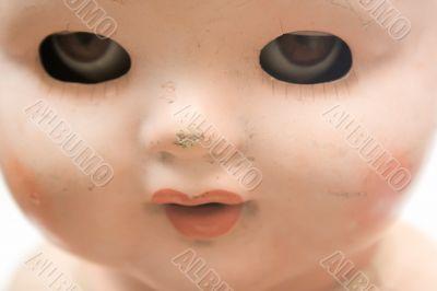 Weird Doll Face