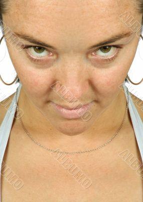 intense stare - girl sally