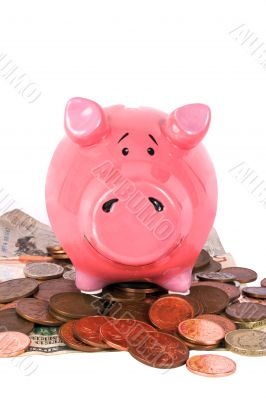 business savings on piggy bank 2