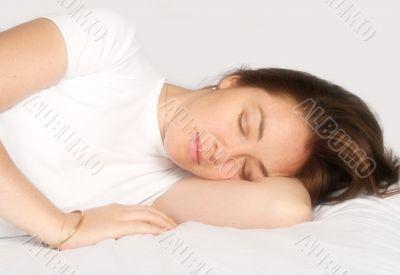 beautiful dreams - sleeping girl