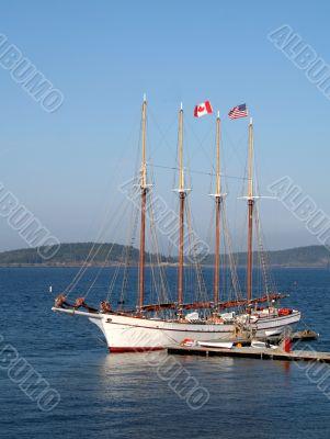 Resting Yacht