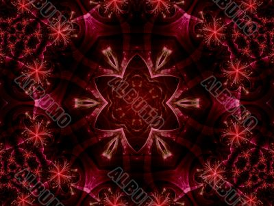 Layered Ornate Star