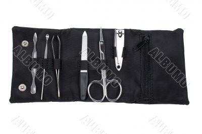 Manicure tools set