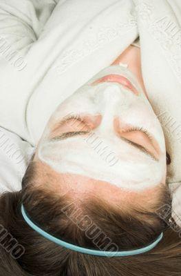 beauty session - face mask