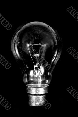 business idea black bulb