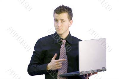 business selling laptop - aris
