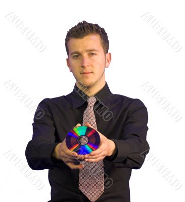 confident business man - CD