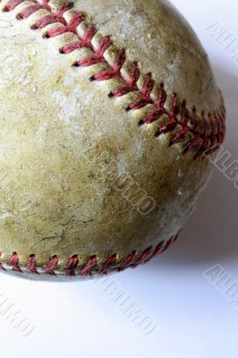 Battered Old Baseball