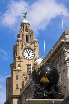 Liver Building and globe