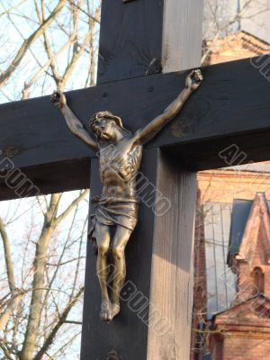 Holy Cross with figure of crucified jesus christ