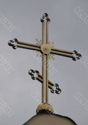 Orthodox Church`s Holy Crosses and cupolas