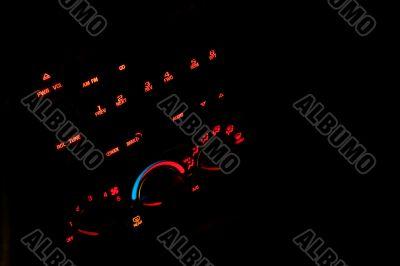 Dashboard Radio & Temperature Contols