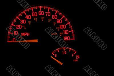Dashboard Speedometer Gas Gauge