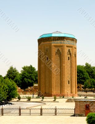 Ancient orient tower