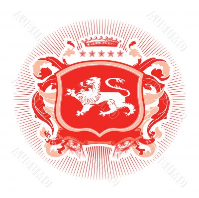heraldic shield