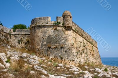 ancient stronghold in Greece
