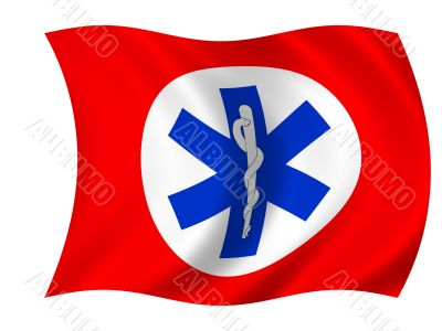 Healthcare flag