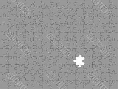 Dark Grey Puzzle background