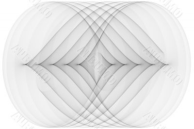 Abstract monochrome graphic design