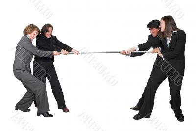 business teamwork competition